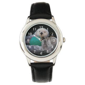 Playful Sea Otters Photo Watch