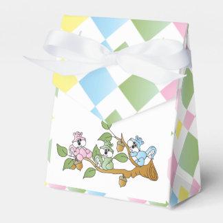Playful Squirrel Baby Shower Theme Wedding Favor Box
