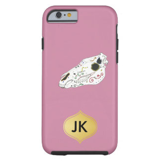 Playfully Beautiful La Muerte Horse Skull Tough iPhone 6 Case
