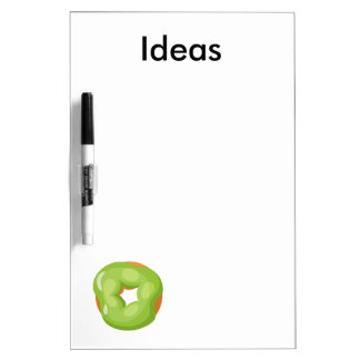 Playfully Delicious Mouth Watering Donut Dry Erase Boards