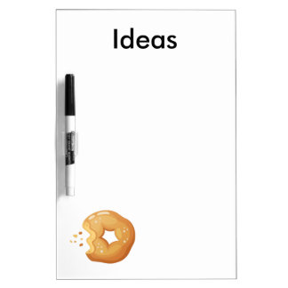 Playfully Delicious Mouth Watering Donut Dry-Erase Whiteboards