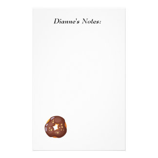 Playfully Delicious Mouth Watering Donut Stationery