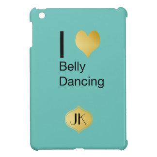 Playfully Elegant I Heart Belly Dancing iPad Mini Cover