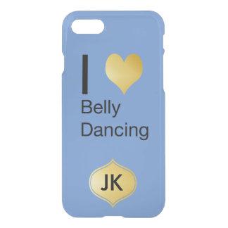 Playfully Elegant I Heart Belly Dancing iPhone 8/7 Case