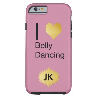 Playfully Elegant I Heart Belly Dancing Tough iPhone 6 Case