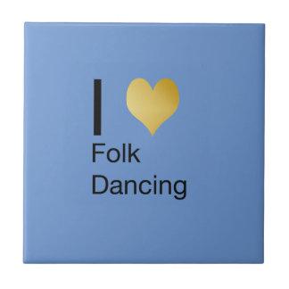 Playfully Elegant I Heart Folk Dancing Tiles