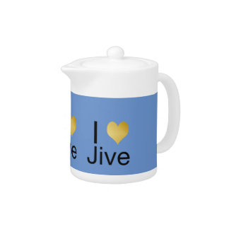 Playfully Elegant I Heart Jive