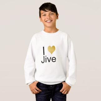 Playfully Elegant I Heart Jive Sweatshirt