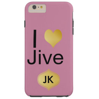 Playfully Elegant I Heart Jive Tough iPhone 6 Plus Case