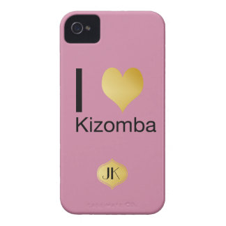 Playfully Elegant I Heart Kizomba Case-Mate iPhone 4 Cases