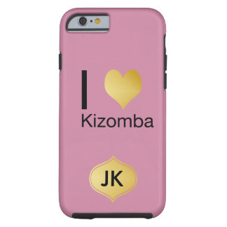 Playfully Elegant I Heart Kizomba Tough iPhone 6 Case