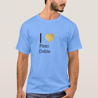 Playfully Elegant I Heart  Paso Doble T-Shirt