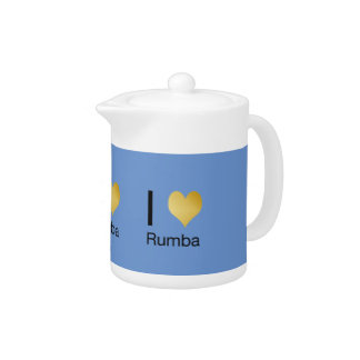 Playfully Elegant I Heart Rumba