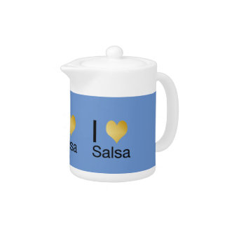 Playfully Elegant I Heart Salsa