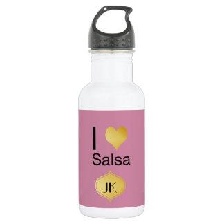 Playfully Elegant I Heart Salsa 532 Ml Water Bottle