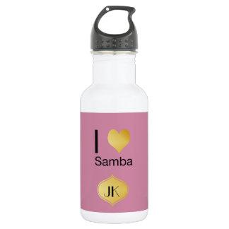 Playfully Elegant I Heart Samba 532 Ml Water Bottle