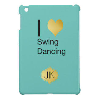 Playfully Elegant  I Heart Swing Dancing Cover For The iPad Mini