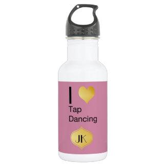 Playfully Elegant  I Heart Tap Dancing 532 Ml Water Bottle