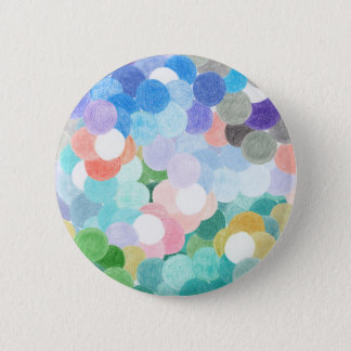 Playfully picturesque 2 inch round button