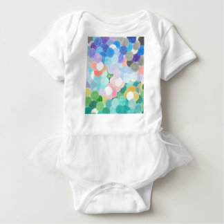 Playfully picturesque baby bodysuit