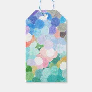 Playfully picturesque gift tags