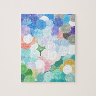 Playfully picturesque jigsaw puzzle