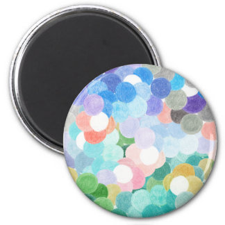 Playfully picturesque magnet