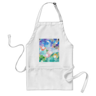 Playfully picturesque standard apron