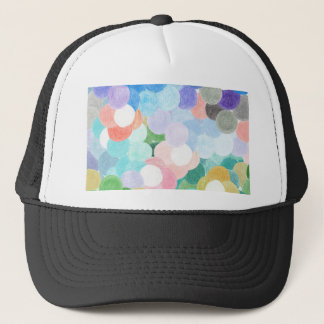 Playfully picturesque trucker hat