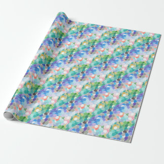 Playfully picturesque wrapping paper