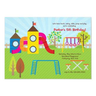 Playground Invitation