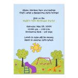 Playground Invitations