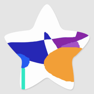 Playground Star Sticker