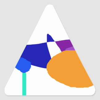 Playground Triangle Sticker