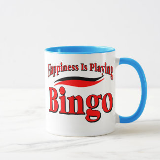 Playing Bingo Mug
