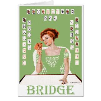 Playing Bridge Card