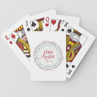 Playing Card Deck - Jane Austen Period Dramas
