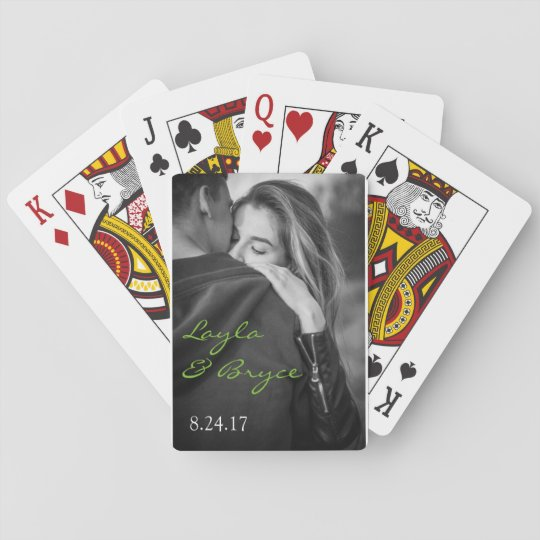 Playing Card Engagement or Wedding Guest Favours