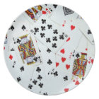 Playing Card Games Plate