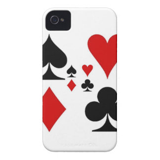 PLAYING CARD SUITES GIFTS Case-Mate iPhone 4 CASE