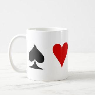 Playing Card Suits Coffee Mug