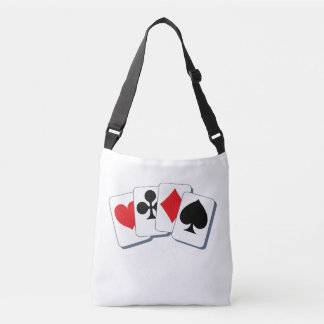 Playing Card Suits Crossbody Bag
