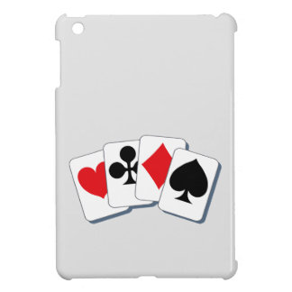 Playing Card Suits iPad Mini Case