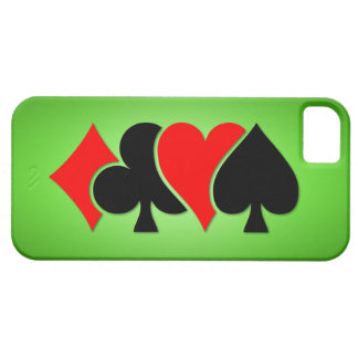 Playing Card Suits iPhone 5 Case