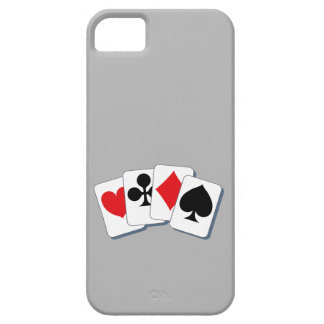 Playing Card Suits iPhone 5 Cases