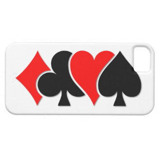 Playing Card Suits iPhone 5 Cover
