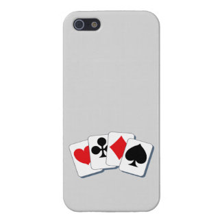 Playing Card Suits iPhone 5 Covers