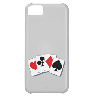 Playing Card Suits iPhone 5C Cover