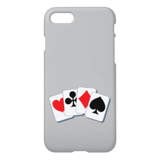 Playing Card Suits iPhone 8/7 Case