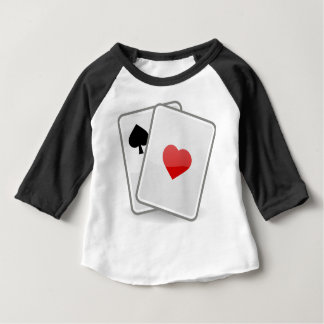 Playing Cards Baby T-Shirt